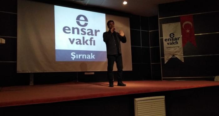 Cizre'de Stand-up Gösterisi Düzenlendi.