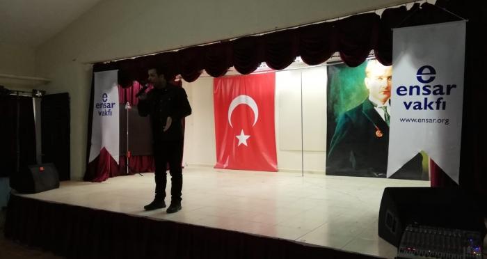 Şırnak'ta Stand-up Gösterisi Düzenlendi