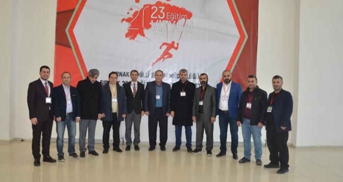 Şırnak'ta 2023 Eğitim Vizyon Çalıştayı Düzenlendi
