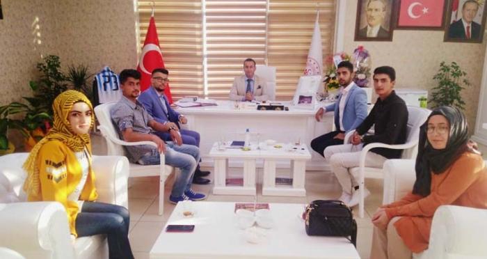 Ensar Vakfı Şırnak Şubesi, Şırnak Gençlik ve Spor İl Müdürlüğünü Ziyaret Etti