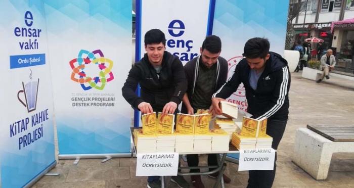 Mevlid-i Nebi Haftası Genç Ensar Ordu Şubesi Hediye Dağıttı