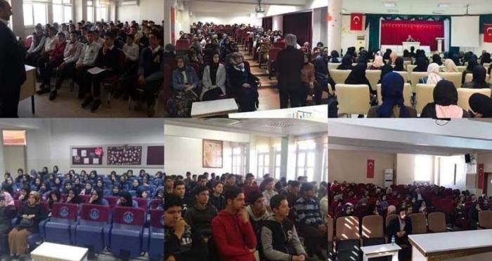 Ensar Vakfı Gaziantep Şubesi 14 Okulda 6.000 Öğrenciye Konferans Verdi