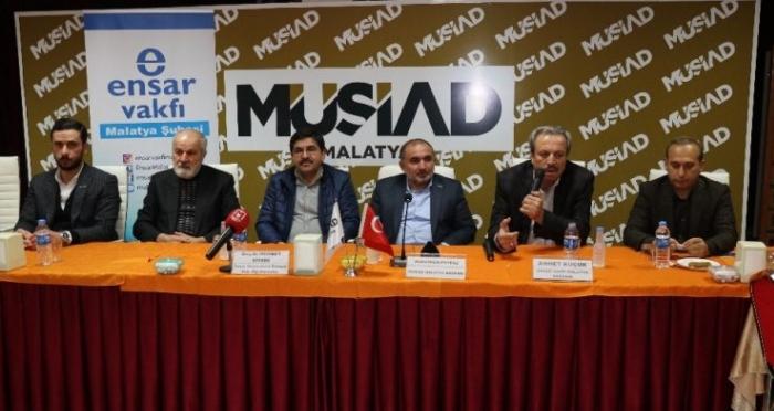 Ensar Vakfı Malatya Şubesinden 'Ticaret Hukuku ve Ahlak' Konferansı
