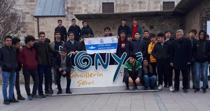 Ensar Vakfı Mersin Şubesinden Konya'ya Ziyaret