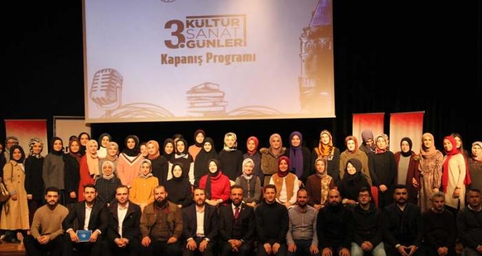 3. Kültür Sanat Günleri Kapanış Programı Gerçekleşti