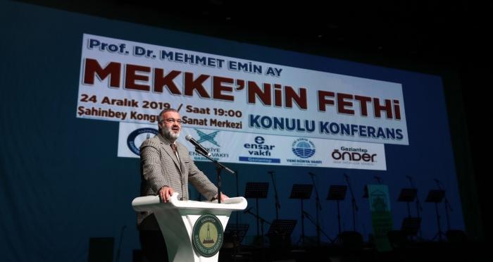 Ensar Vakfı Gaziantep Şubesi 'Mekke'nin Fethi' Konulu Program Gerçekleştirdi