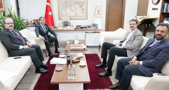 Ensar Vakfı Genel Müdürü Hüseyin Kader'in Ankara Ziyaretleri
