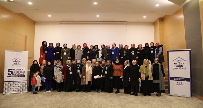 Ensar Vakfı Yurtları 5. Hizmet İçi Eğitim Programı Antalya'da Gerçekleşti