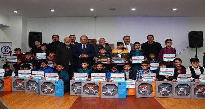 'Haydi Çocuklar Camiye' Ödülleri Verildi