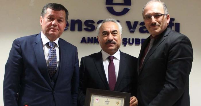 Ensar Vakfı Ankara Şubesi'nin Türkiye'nin Terörle Mücadelesi Konulu Konferansı