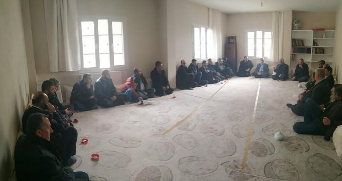 Şırnak'ta geniş katılımlı hasbihal toplantısı yapıldı