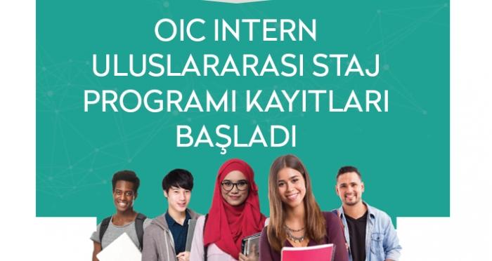 OIC Intern Uluslararası Staj Programı Kayıtları Başladı