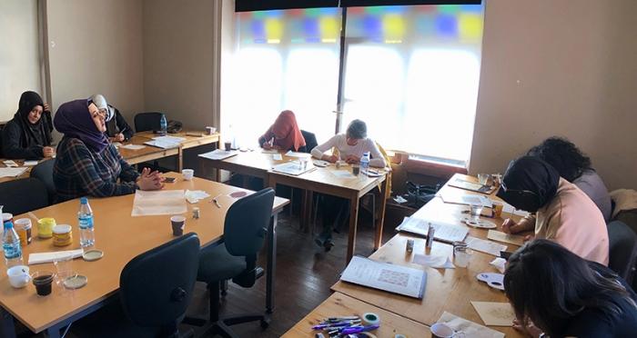Şeyma Çınar ile Tezhip Workshop