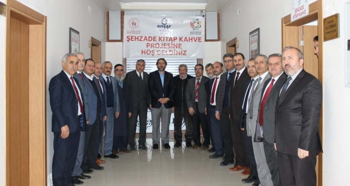 Amasya'da Şehzade Kitap Kahve'nin Açılışı Gerçekleştirildi