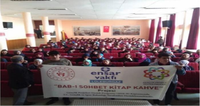 Ensar Vakfı Lüleburgaz Şubesi Okur- Yazar Buluşması Düzenledi