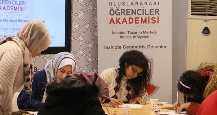 Uluslararası Öğrenci Akademisi İhtisas Atölyeleri Tamamlandı