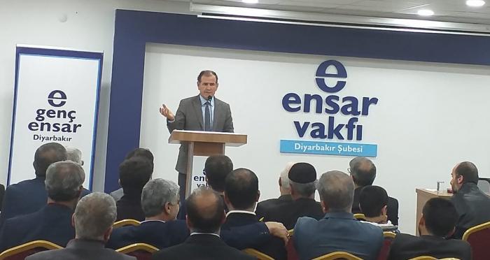Ensar Vakfı Diyarbakır Şubesi'nden Konferans