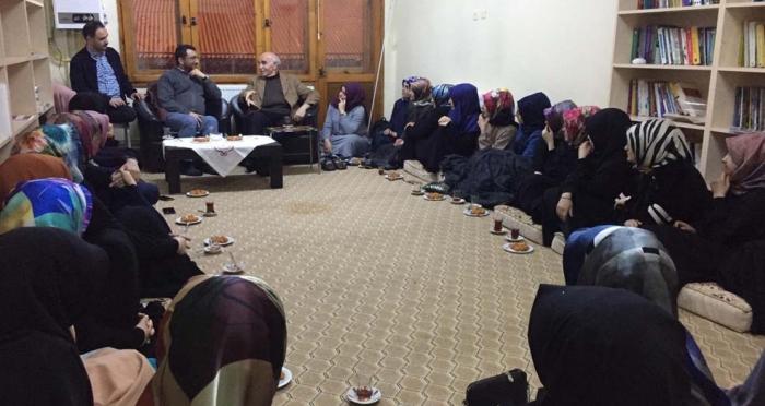 Ensar Vakfı Bayburt Şubesi'nden 'Ramazan ve Oruç' Konulu Söyleşi