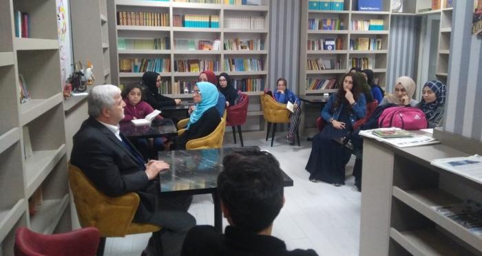 Ensar Vakfı Lüleburgaz Şubesi'nden Bab-ı Sohbet Kitap Kahve'de Ramazan Sohbetleri