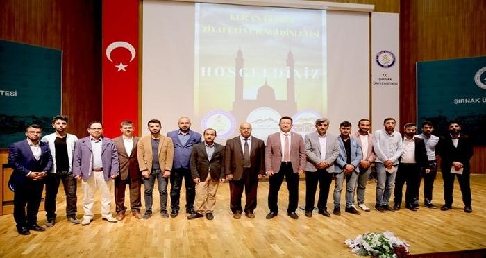 Ensar Vakfı Şırnak Şubesi Kur'an-ı Kerim Ziyafeti ve İlahi Dinletisi Programı Düzenledi