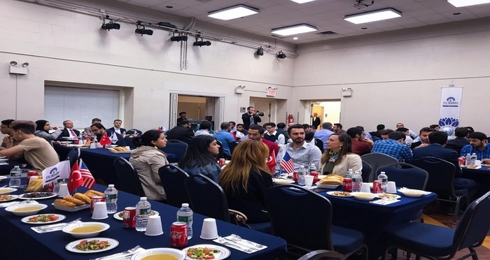 TURKEN Vakfı New York'ta İftar Programı Düzenledi