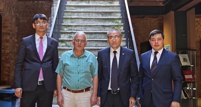Özbekistan İstanbul Başkonsolosu İTM'yi Ziyaret Etti
