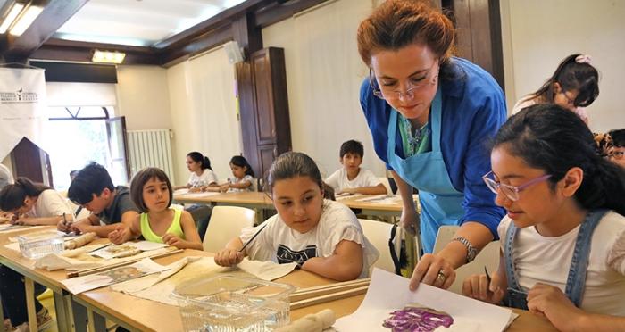 İstanbul Tasarım Merkezi'nde 'Çocuklarla 5 Gün 5 Tasarım Atölyesi' Başladı