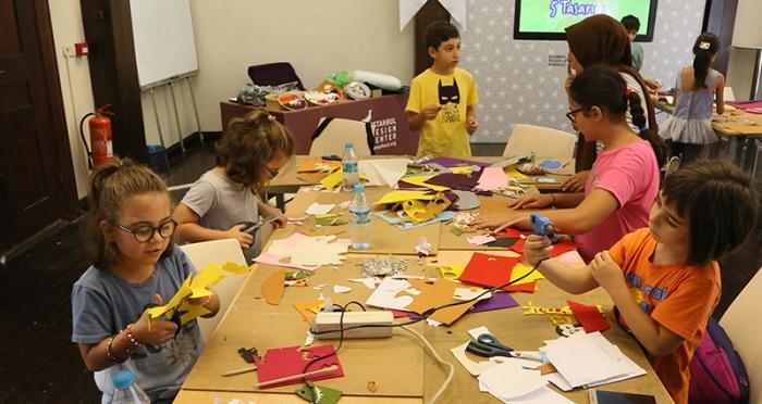 Çocuklarla 5 Gün 5 Tasarım Atölyesi 'Marifetli Eller Atölyesi'