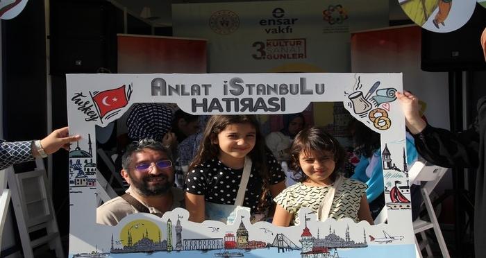 Ensar Vakfı Anlat İstanbul'u Etkinliği ile Teknofestteydi