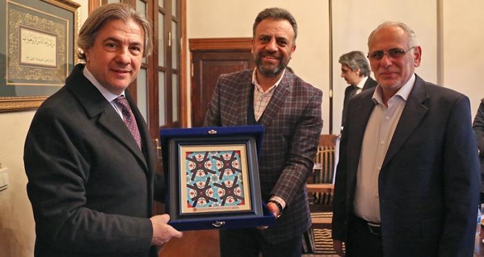 Kültür ve Turizm Bakan Yardımcısı İTM'yi Ziyaret Etti