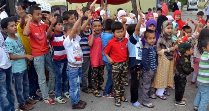 Türkistanlı kardeşlerimizden teşekkür mesajı