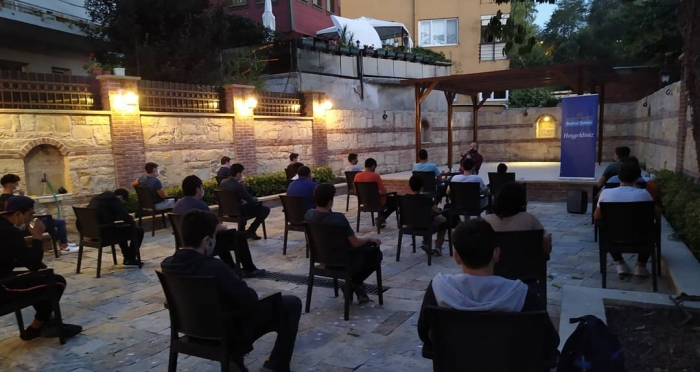 Cuma Sohbetlerinin Konuğu Mehmet Dilbaz Oldu