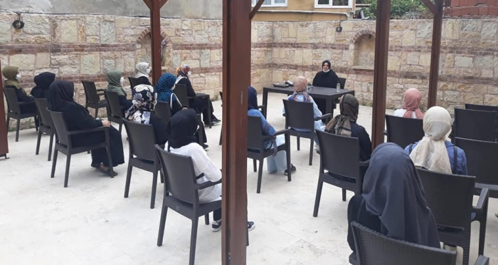 Ensar Vakfı Beykoz Şubesi 'Gönül Sohbetleri' Programı Başladı