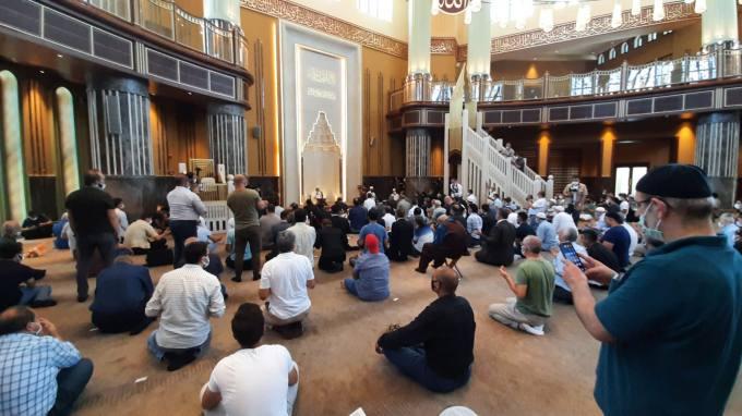 15 Temmuz Şehitleri İçin Okunan Hatimlerin Duası Taksim Camii'nde Yapıldı