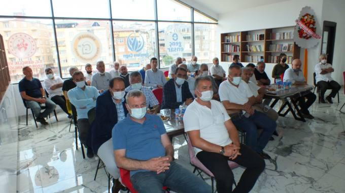 """Ensar Vakfı Ünye Şube """"Gençlere Çağrı Gelişim Merkezi"""" Projesi Açıldı"""