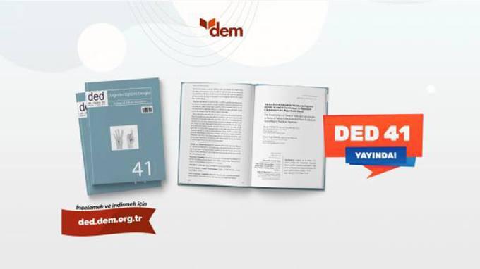 Değerler Eğitimi Dergisinin 41. Sayısı Yayında!