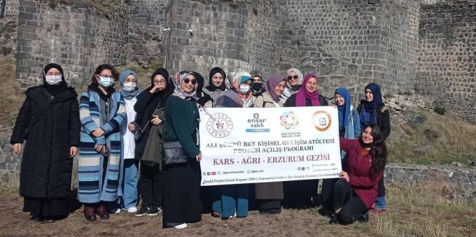 Ensar Vakfı Trabzon Şubesi Öğrenciler İçin Gezi Düzenledi