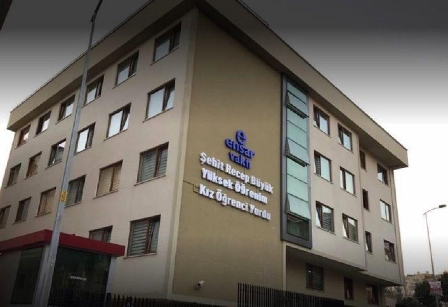 Özel Ensar Vakfı İstanbul Üsküdar Şehit Recep Büyük Yükseköğrenim Kız Öğrenci Yurdu